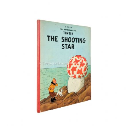 The Adventures of Tintin The Shooting Star by Hergé First Edition First Impression Methuen 1961